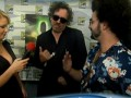 Tim Burton on 9 at Comic Con