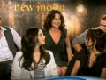 Robert Pattinson, Taylor Lautner, & Kristen Stewart on New Moon Pt.1 of 2