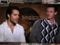 Henry Cavill, Freida Pinto & Stephen Dorff on Immortals