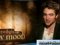 Robert Pattinson, Taylor Lautner, & Kristen Stewart on New Moon pt 2 of 2