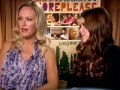 Malin Akerman & Kate Mara on Happythankyoumoreplease