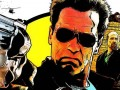 Arnold Schwarzenegger, Johnny Knoxville & Jaimie Alexander on The Last Stand